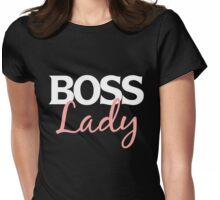 Boss Lady Womens Fitted T-Shirt