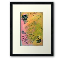 The Art of Decay - DisCo Journal Cover Page Framed Print