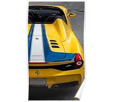 Ferrari 458 Aperta! Poster