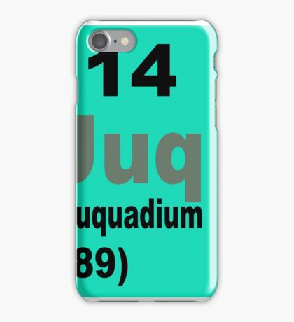 Flerovium Periodic Table of Elements iPhone Case/Skin