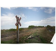 Rail Crossing  Poster