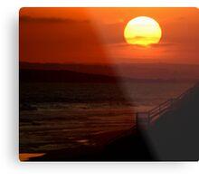 Sunset,13th Beach Metal Print