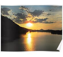 Arkansas Sunset Poster