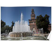 Sforza Castle Poster
