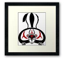 Sikak - Skunk Framed Print