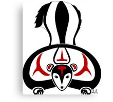 Sikak - Skunk Canvas Print