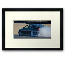 Smokin !!! Framed Print