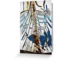 Dumpster 803-026 Greeting Card