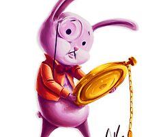 White Rabbit - Robin in Wonderland Concept by Angela Song