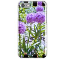 lovely purple sprocket flower iPhone Case/Skin