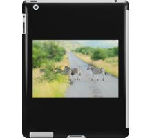 zebra crossing iPad Case/Skin