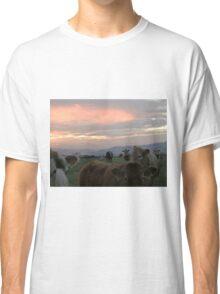 Cow sky Derry Ireland Classic T-Shirt