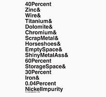 450.04% Shiny Metal Unisex T-Shirt