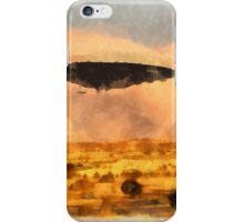 UFO Fleet Assembles by Raphael Terra iPhone Case/Skin