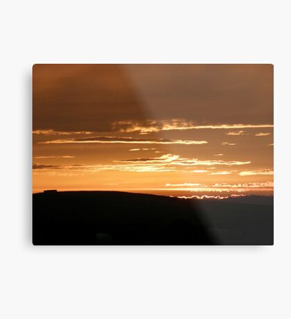 Grainan Gold Donegal Ireland  Metal Print