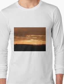 Grainan Gold Donegal Ireland  Long Sleeve T-Shirt