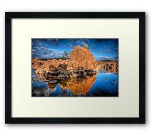 Watson Rock Framed Print
