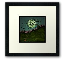Consult the Willow Framed Print
