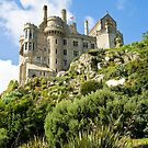 St Michaels Mount Castle by David Wilkins