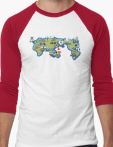 Well Travelled Men's Baseball ¾ T-Shirt