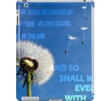 CAUGHT UP IN THE AIR iPad Case/Skin