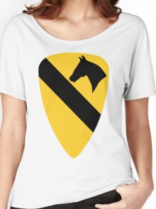 1st Cavalry Division Women's Relaxed Fit T-Shirt