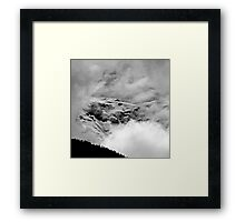 The Mont Blanc from Saint Gervais Framed Print