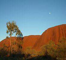 Uluru at Sunrise by bbatch