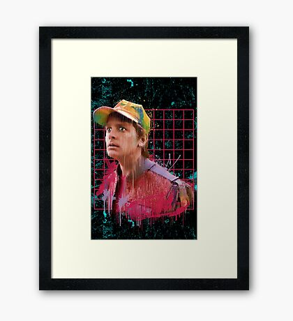 The Future is Rad Framed Print