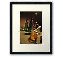 High in lowlight! Framed Print