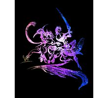 Final Fantasy X-2 logo universe Photographic Print