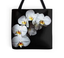 The White Orchid  Tote Bag