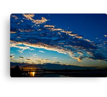 Sun slip Canvas Print