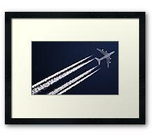 Air France Airbus A380 F-HPJB Framed Print