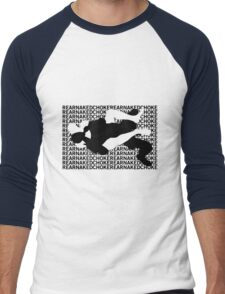 Jiu Jitsu MMA Rear Naked Choke Men's Baseball ¾ T-Shirt