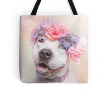 Flower Power, Cali Tote Bag