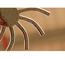 Spidery Sun Photographic Print