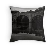 Ancient footsteps still echo here. Throw Pillow