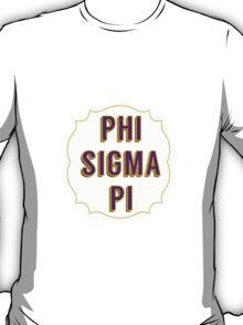 Phi Sigma Pi T-Shirt