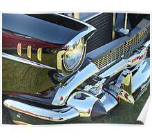 Gleaming Classic Chevrolet Chromework Poster