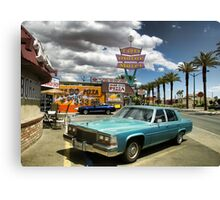 Las Vegas Motel Canvas Print