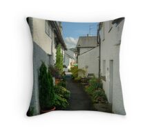 The Other End Of The Alley Throw Pillow