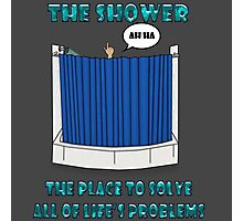 Shower Thoughts Photographic Print