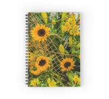 Design Concept Sunflowers Spiral Notebook