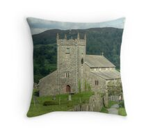 Hawkshead Church Throw Pillow