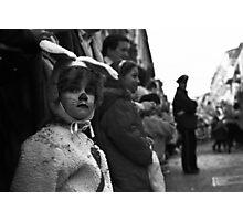 Sadness of the rabbitt Photographic Print