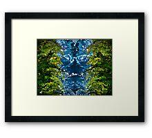 Modern composition 35 Framed Print