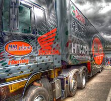 hm plant superbikes team truck hdr by markbailey74