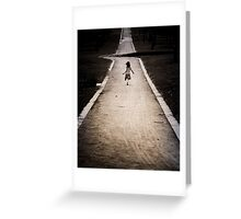 Their is a kink in the road (Sold one YAY )  Greeting Card