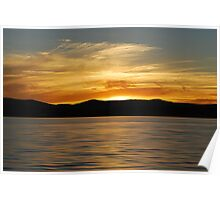 Warners Bay Sunset  Poster